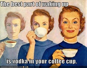 Thank Goodness for Vodka!