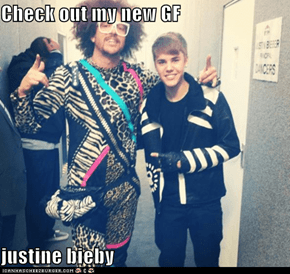 Check out my new GF  justine bieby