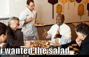 i wanted the salad