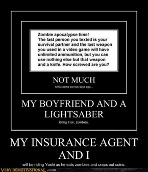 MY INSURANCE AGENT AND I