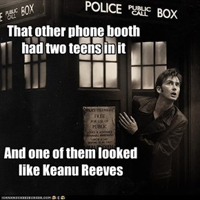 I'll Stick With My Police Box, Thank You