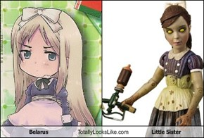 Belarus Totally Looks Like Little Sister