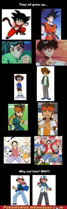 Ash Looks Even Worse
