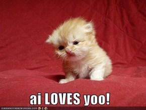 ai LOVES yoo!