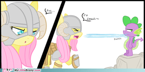 Fluttershy Isn't a Great Dragonborn