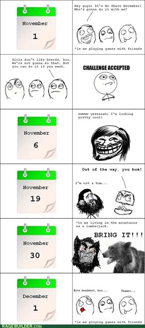 No Laid November