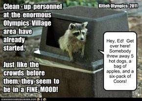 Olympic Clean-up!