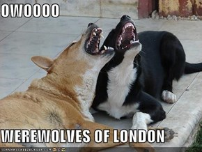 OWOOOO  WEREWOLVES OF LONDON