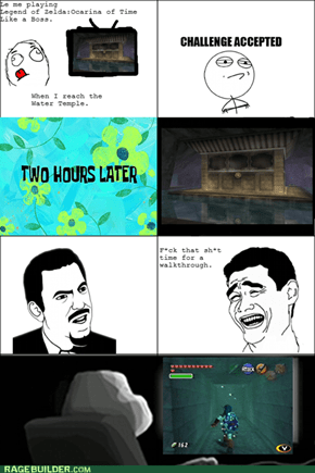 Water Temple Rage!