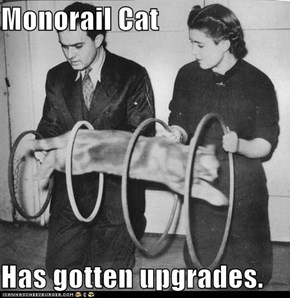 Monorail Cat  Has gotten upgrades.