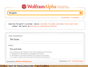 Third Time This Week, Wolfram