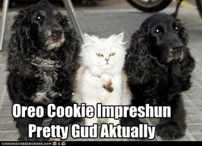Oreo Cookie Impreshun