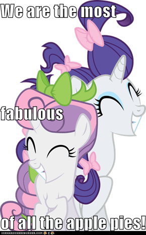 We are the most  fabulous of all the apple pies!