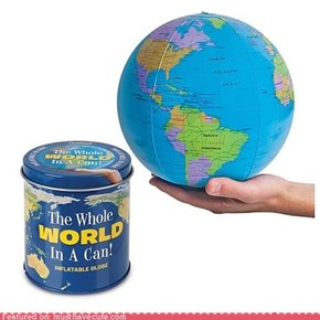He's Got the Whole World in His Can