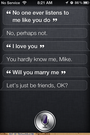 Friend Zoned by Siri