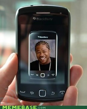 Yo dawg, I heard you like Blackberries
