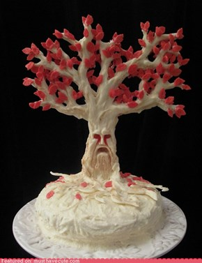 Epicute: Weirwood Tree Cake