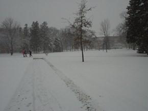 University of North Dakota in December