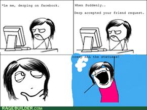 Facebook rage