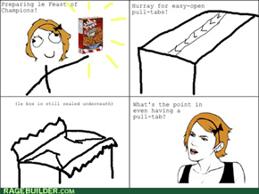 The bane of my frozen food dependency