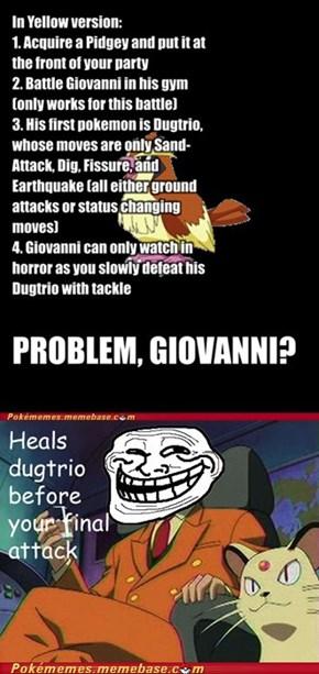 Giovanni Trolls You
