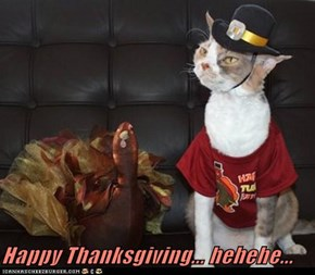 Happy Thanksgiving... hehehe...