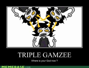 Does Homestuck even have a God ?