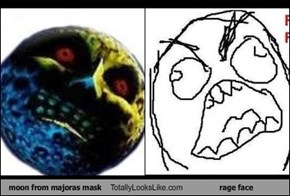 moon from majoras mask Totally Looks Like rage face