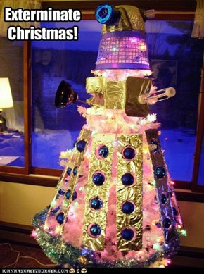 Brace yourselves, Christmas Daleks are coming!
