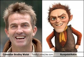 Comedian Bradley Walsh Totally Looks Like Rumpelstiltskin