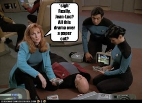 Really, Jean Luc?