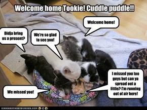 Cuddle puddle on Tookat!