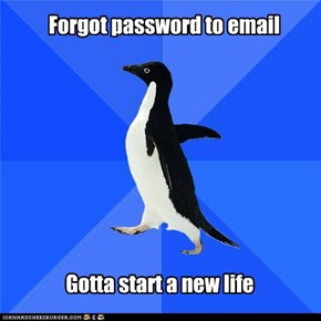 Forgot password to email