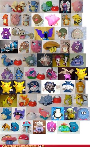1999 Burger King Pokémon Toys
