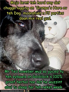 Mojo Jones n Mr Ted Learn about Pajama Parties...