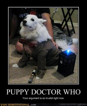 PUPPY DOCTOR WHO