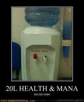 20L HEALTH & MANA