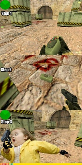 How to Play Counter Strike 1.6 de_dust2