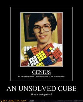 AN UNSOLVED CUBE