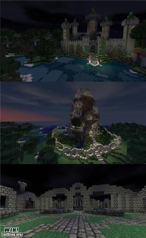 Minecraft Keep WIN