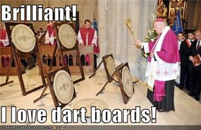 Brilliant!  I love dart boards!