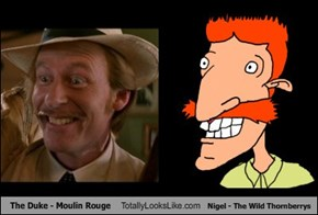 The Duke - Moulin Rouge Totally Looks Like Nigel - The Wild Thornberrys