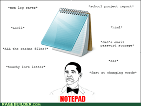 Notepad At All...
