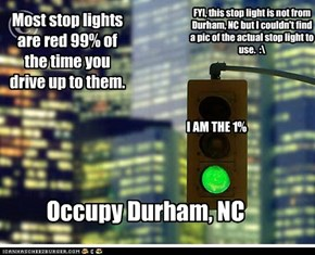 Stop Lights, they can be the 1%