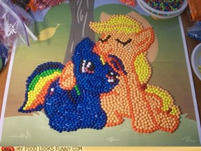 Apple Jack and Rainbow Dash Skittles