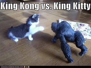 King Kong vs. King Kitty