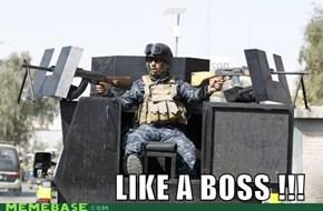 Like a Boss !!!