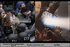 """Occupy"" Protester Totally Looks Like Lo Pan"