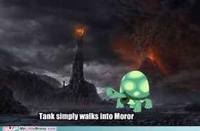 Tank Simply Walks Into Mordor