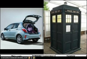 This yaris Totally Looks Like TARDIS